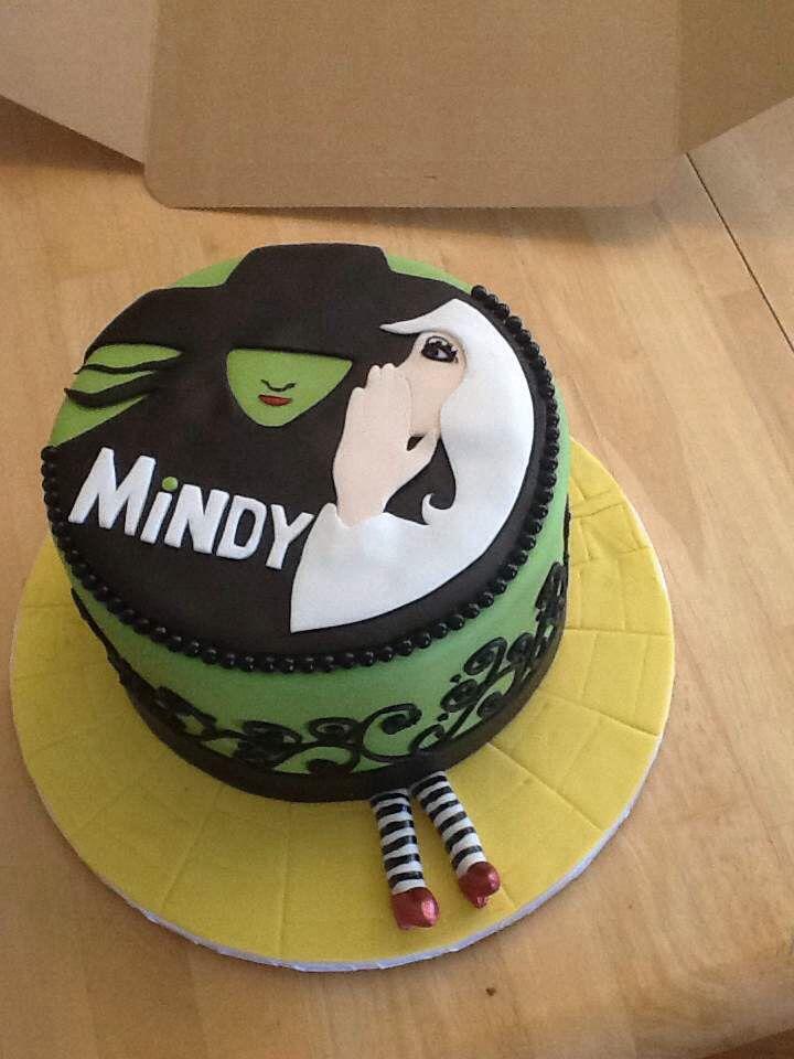Personal Wicked Birthday Cake I Got Broadway Witch