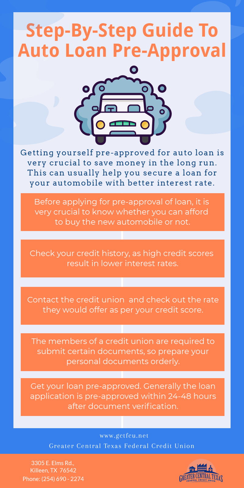 Pin By Greater Central Texas Federal On Credit Union Killeen Tx Car Loans Step Guide Loan
