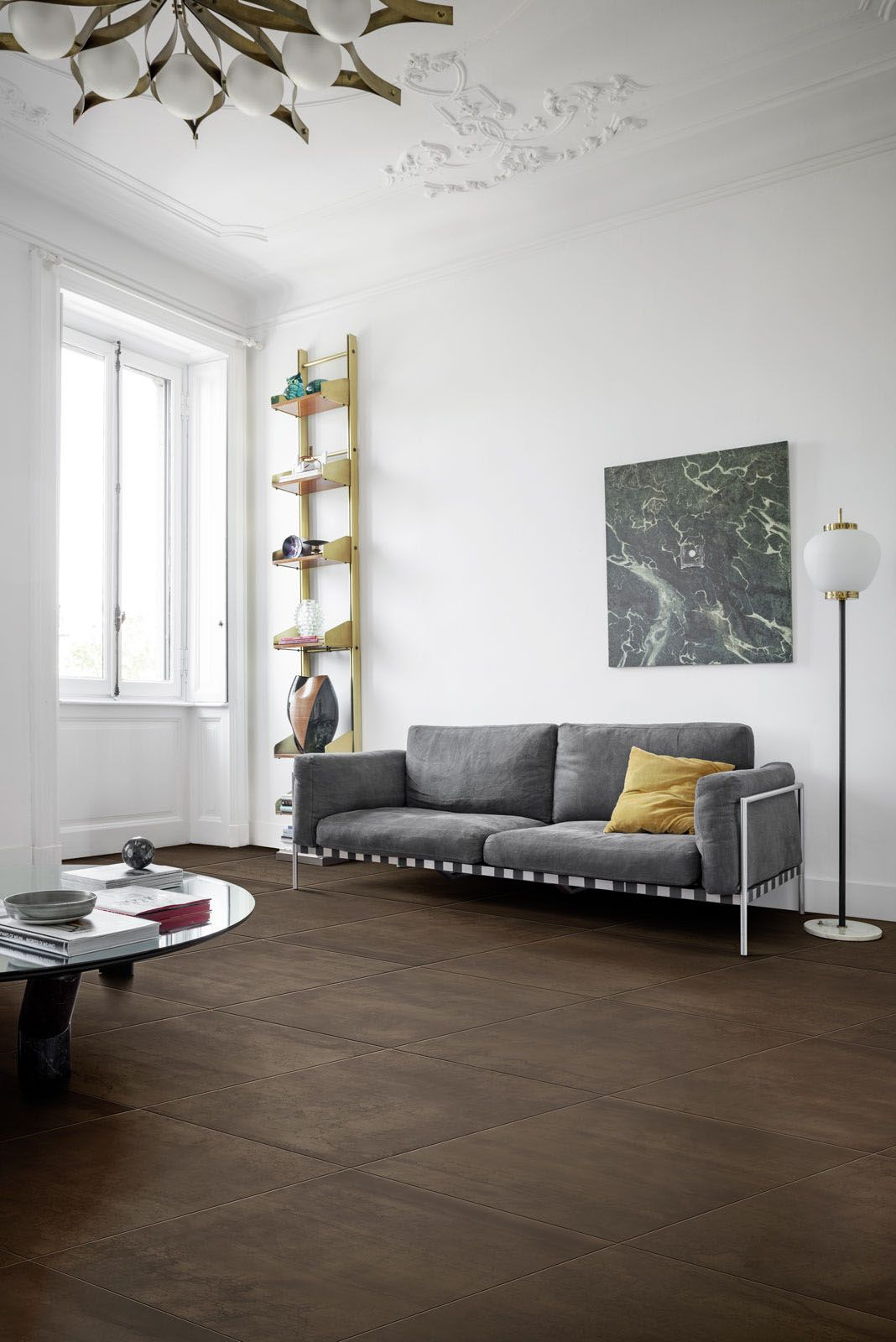Mineral ceramic tiles #Marazzi #Mineral #livingroom #livingroomdecor ...