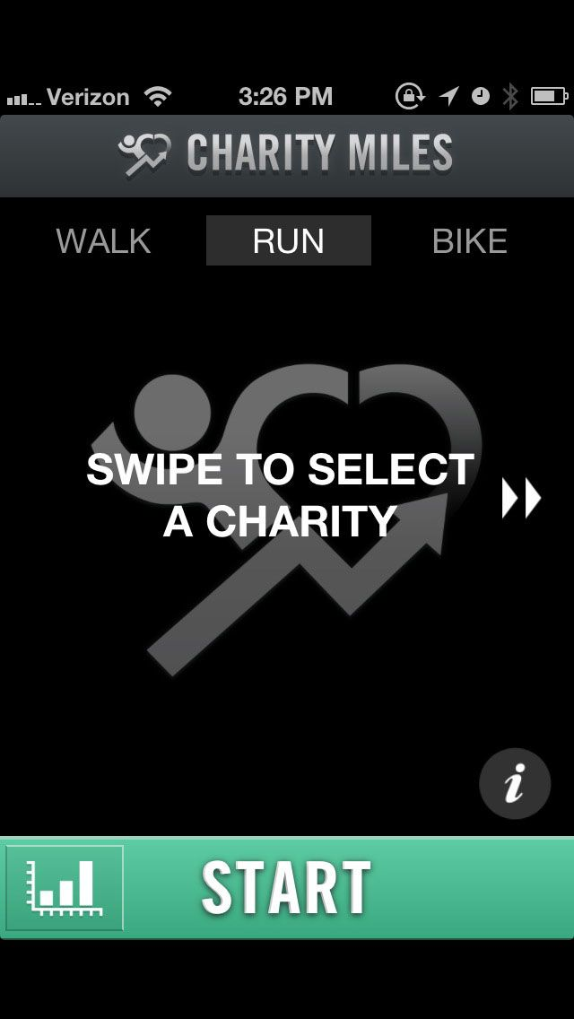 Fantastic app called Charity Miles. It's such a simple and