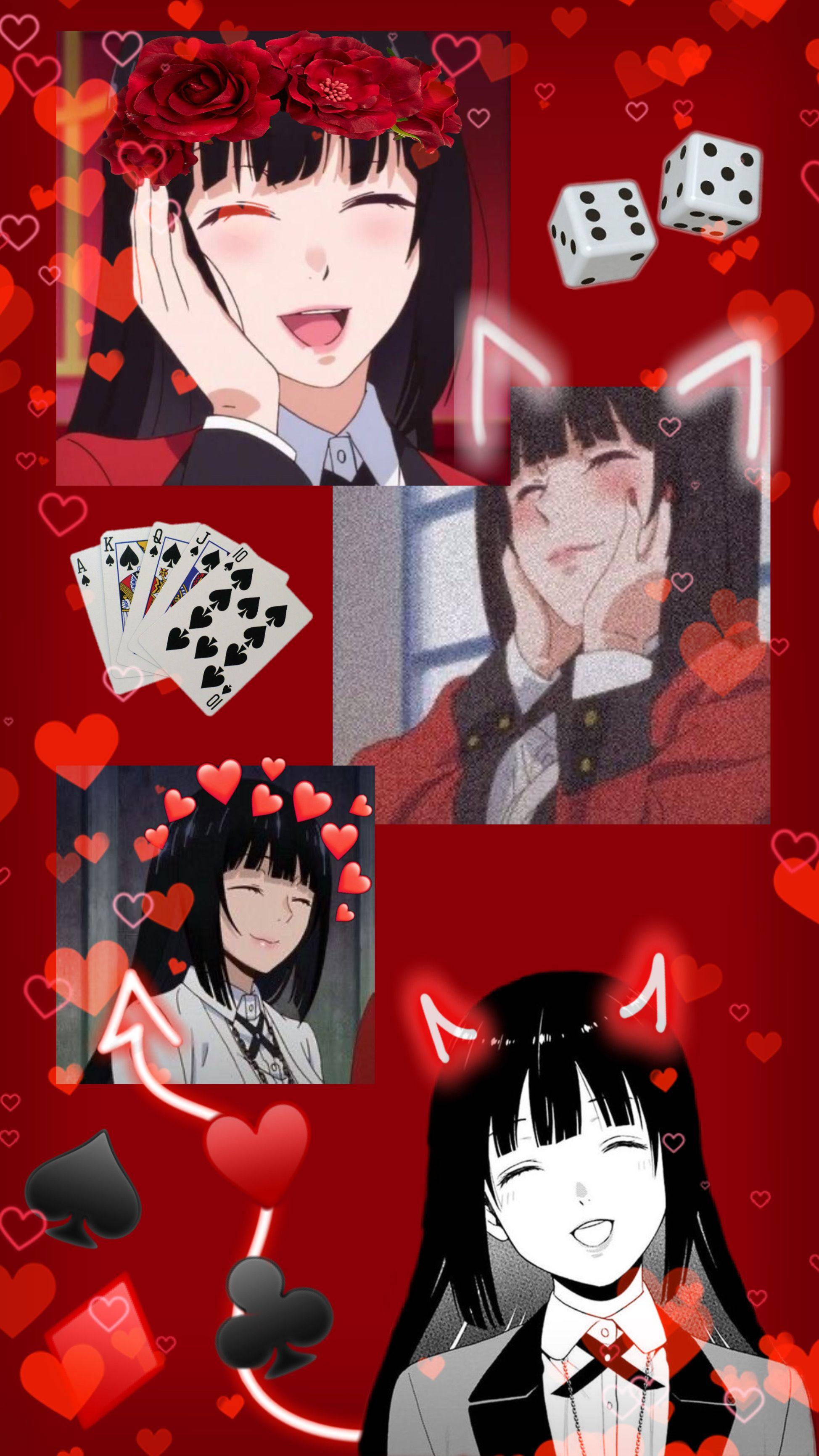 Yumeko Jabami Wallpaper Cute Anime Wallpaper Anime Wallpaper Iphone Yandere Anime