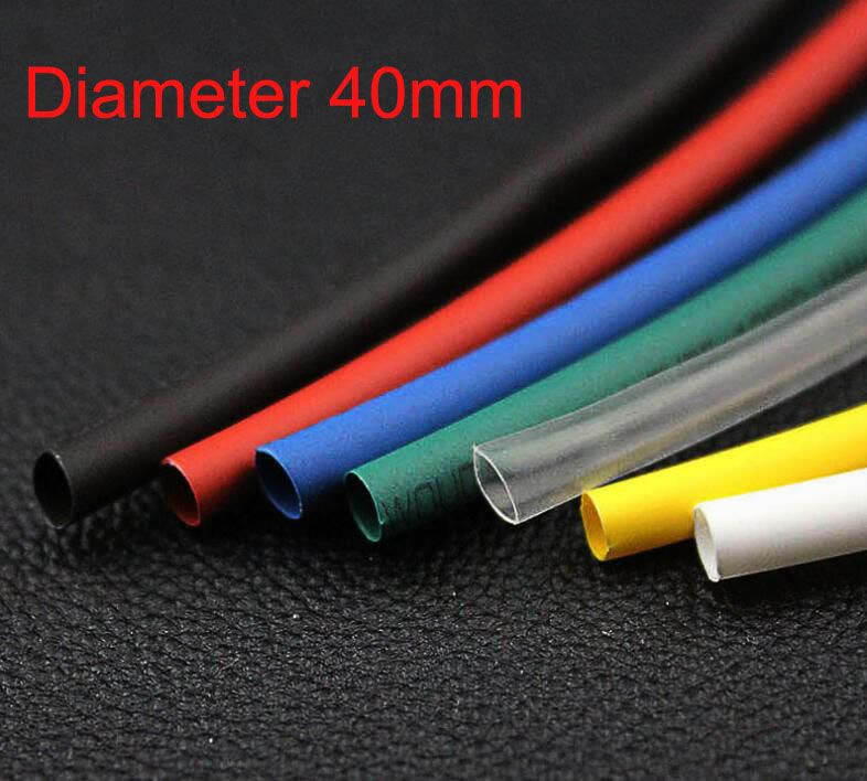 HEAT SHRINK TUBE RED BLUE BLACK YELLOW CLEAR WHITE TUBING SLEEVEING ALL SIZES