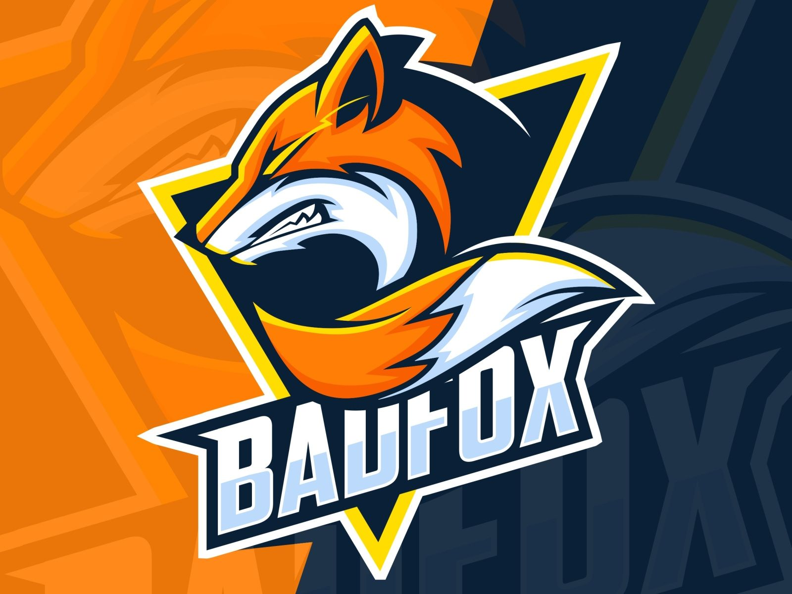 Bad Fox Esport Logo Design Fox Logo Design Logo Design Mascot