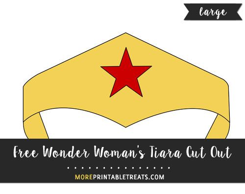 graphic regarding Wonder Woman Printable Logo identify Absolutely free Ponder Womans Tiara Lower Out - Weighty Cricut inside of 2019