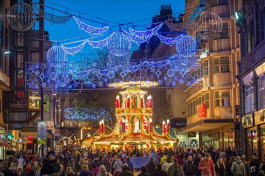 Birmingham's Frankfurt Christmas Market in 2020
