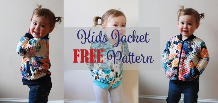 Kids Jacket FREE Pattern | Sew what? | Pinterest