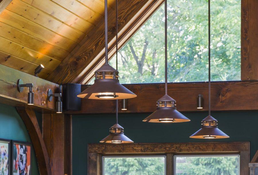 timber frame pool house using teka illumination s beacon stem mount