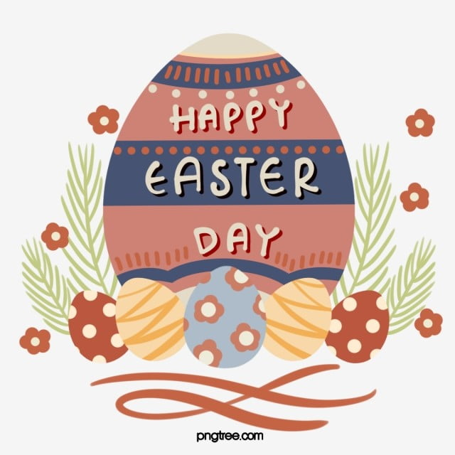 Cartoon Fresh Style Easter Egg Element Easter Clipart Easter Egg Png Transparent Clipart Image And Psd File For Free Download Pasen