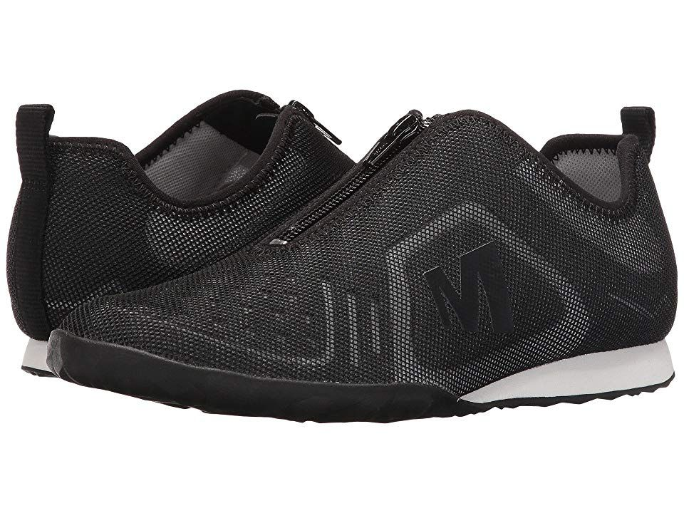 Merrell Civet Zip (Black) Women's Shoes. Knock out that