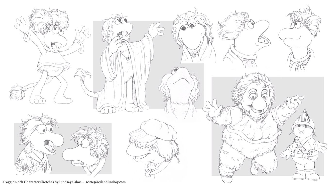 Awesome Fraggle Rock drawings :) | Muppets | Pinterest