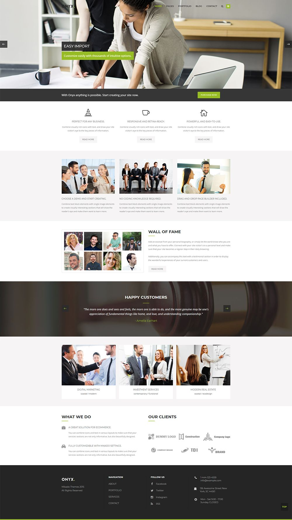 A professional website for your business is here get onyx