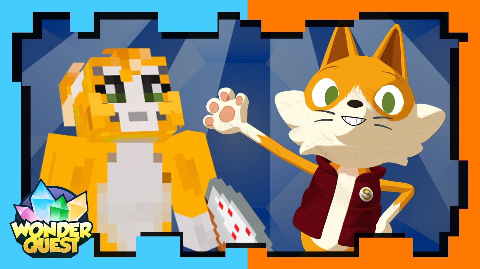 Trailer Stampy Has A New Minecraft Show Wonder Quest Stampy Stampy Cat Minecraft
