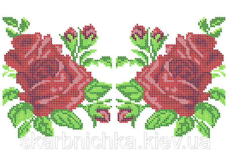 Водорастворимый флизелин с рисунком под вышивку ЮМА-ВРФ23 ...