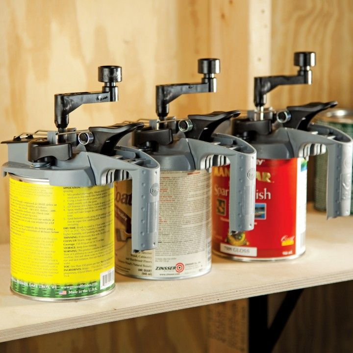 Rockler Mixing Mate Paint Lid Quart Size Stir Pour And Store Staining Wood Paint Cans Canning
