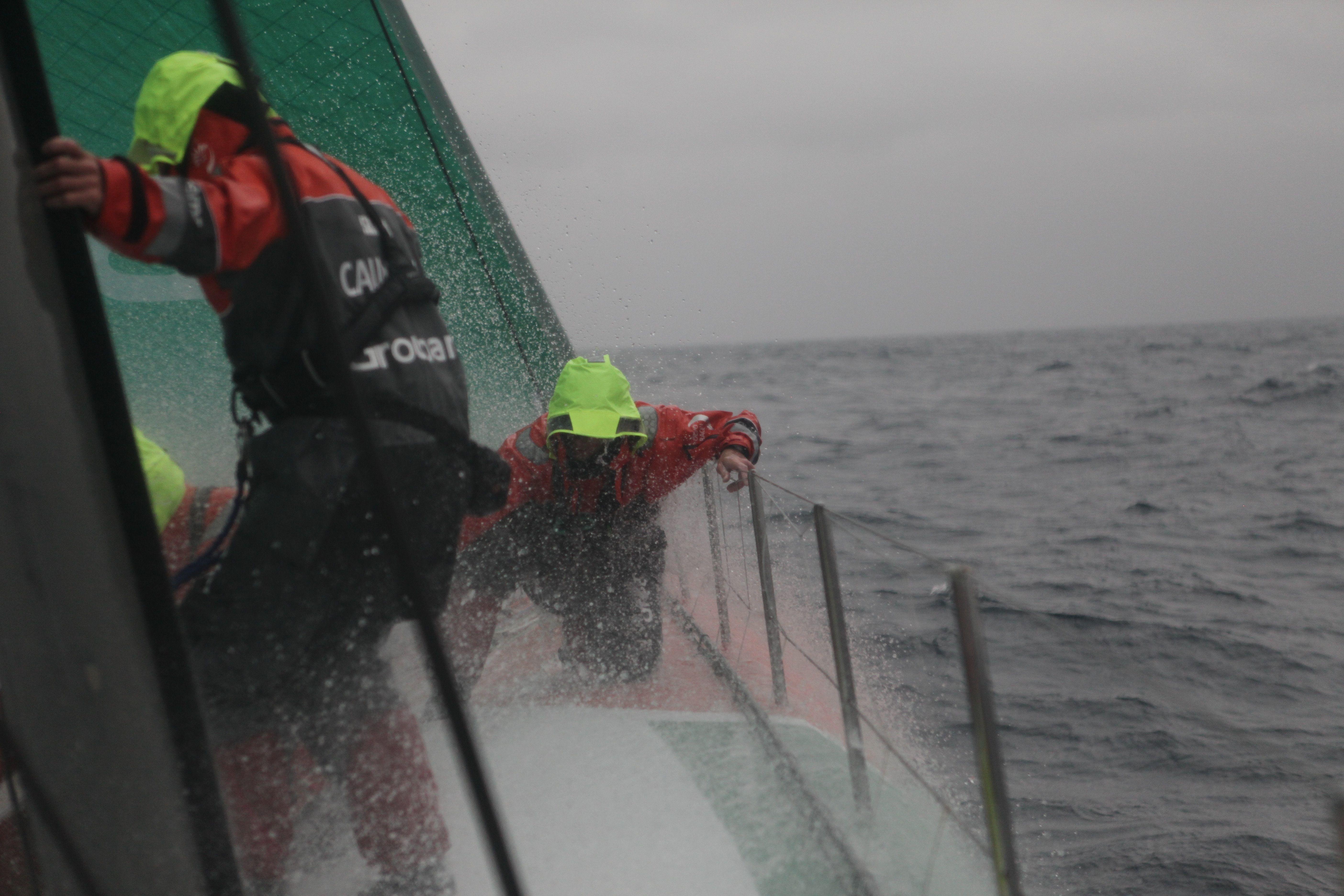 Leg 7 - Day 10 / Groupama in the Volvo Ocean Race / Credit : Yann Riou
