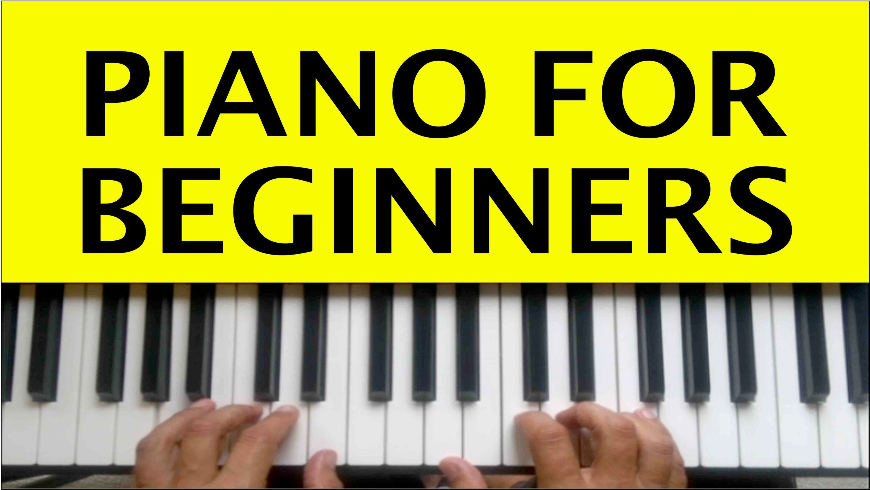 Free Beginner Piano Lessons