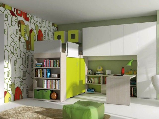 Lit mezzanine sur mesure happyhour | coin enfant | Pinterest | Lit ...