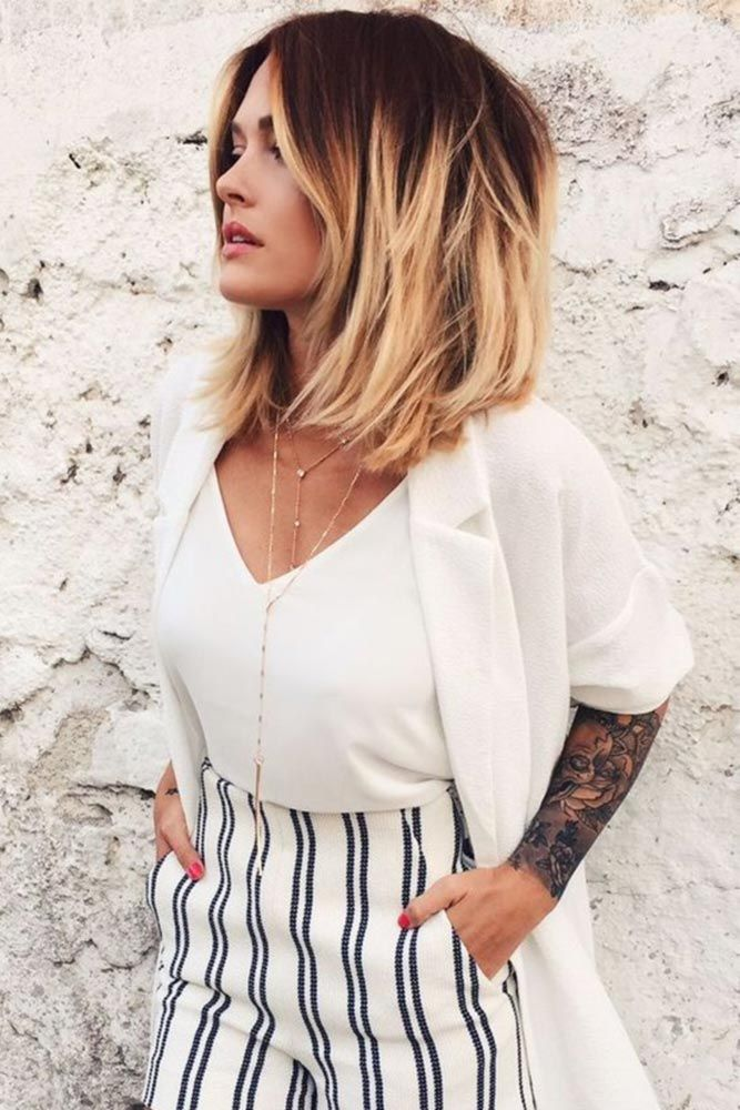 Medium Length Hairstyles For Thick Hair Delectable 43 Superb Medium Length Hairstyles For An Amazing Look  Medium