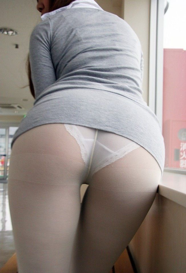 Asian girl hose in pantie