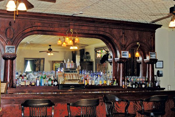 The Old Cowboy Bar At St James Hotel In Cimarron New Mexico