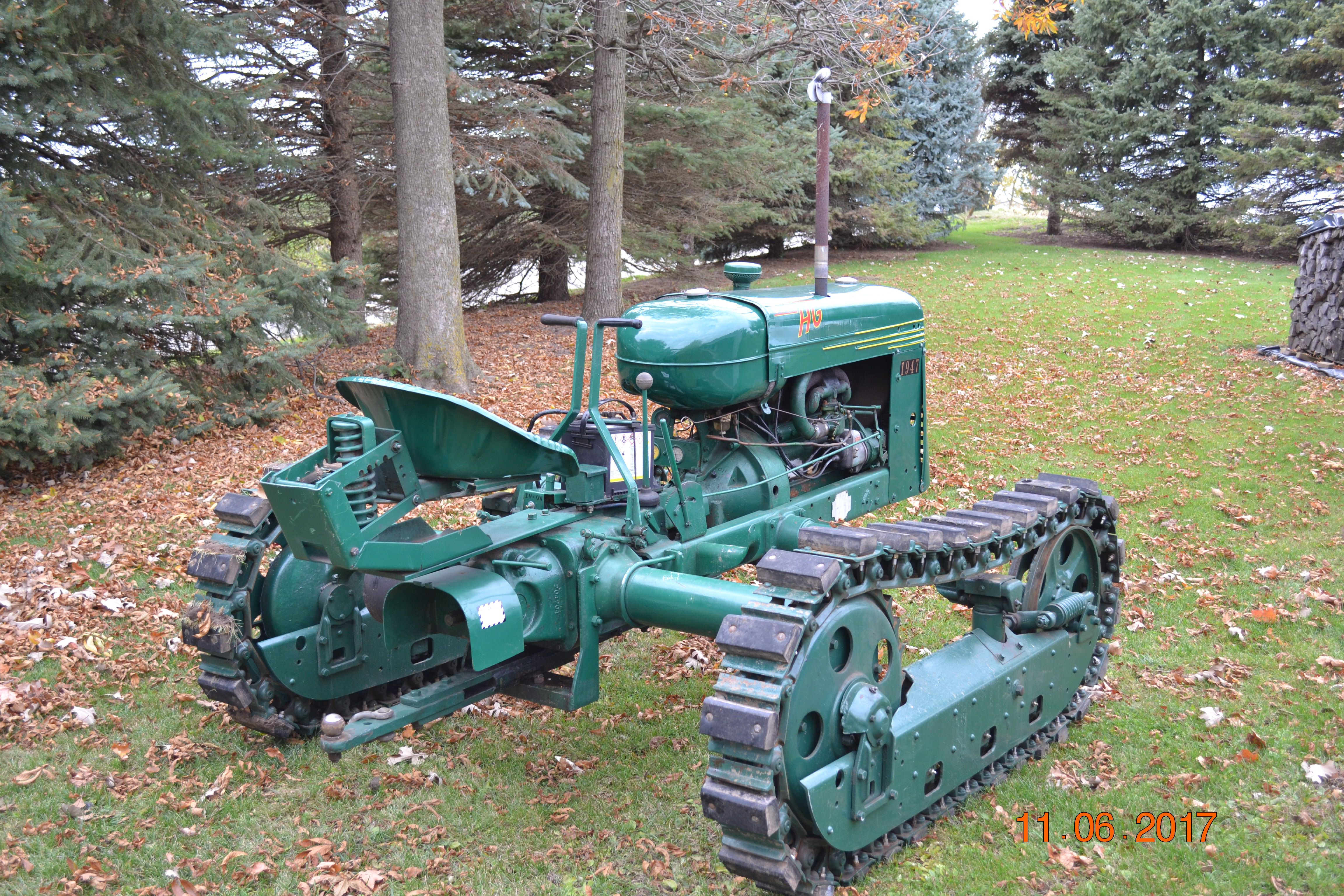 Oliver HG 68 Crawler | A few of my past & present tractors ... on