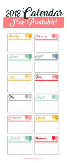 Free Calendar Printable With Inspirational Quotes For Moms