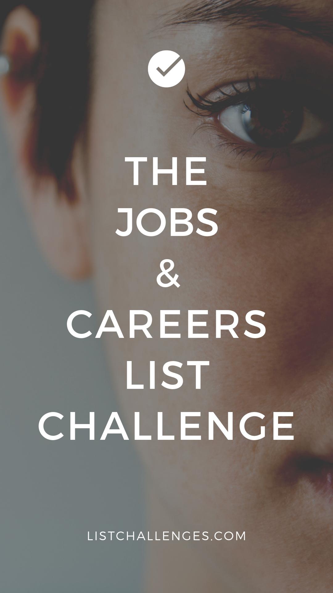 Jobs Careers List Of Jobs Job Career