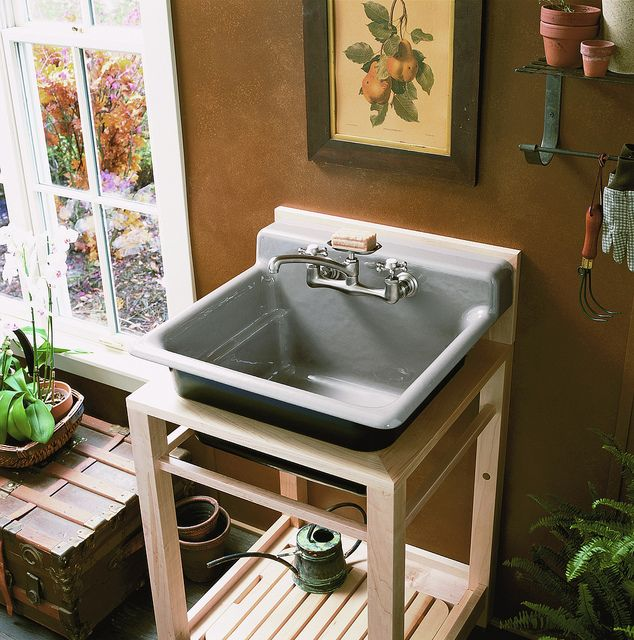 Bayview Utility Sink In Cashmere Utility Sink Sink Outdoor Sinks