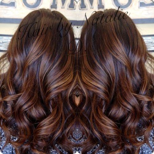 Balayage Black Hair Subtle Google Search Brown Hair