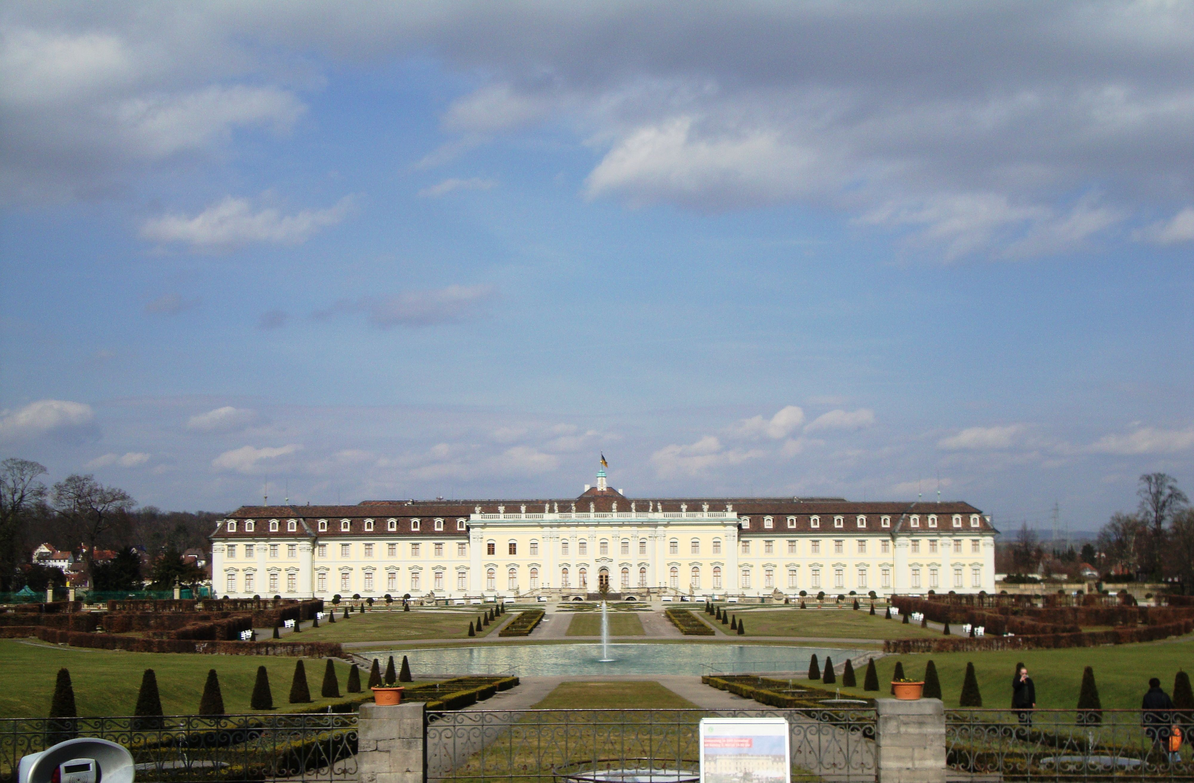 Ludwigsburg Palace Germany Hhc 34th Signal Bn 79 82