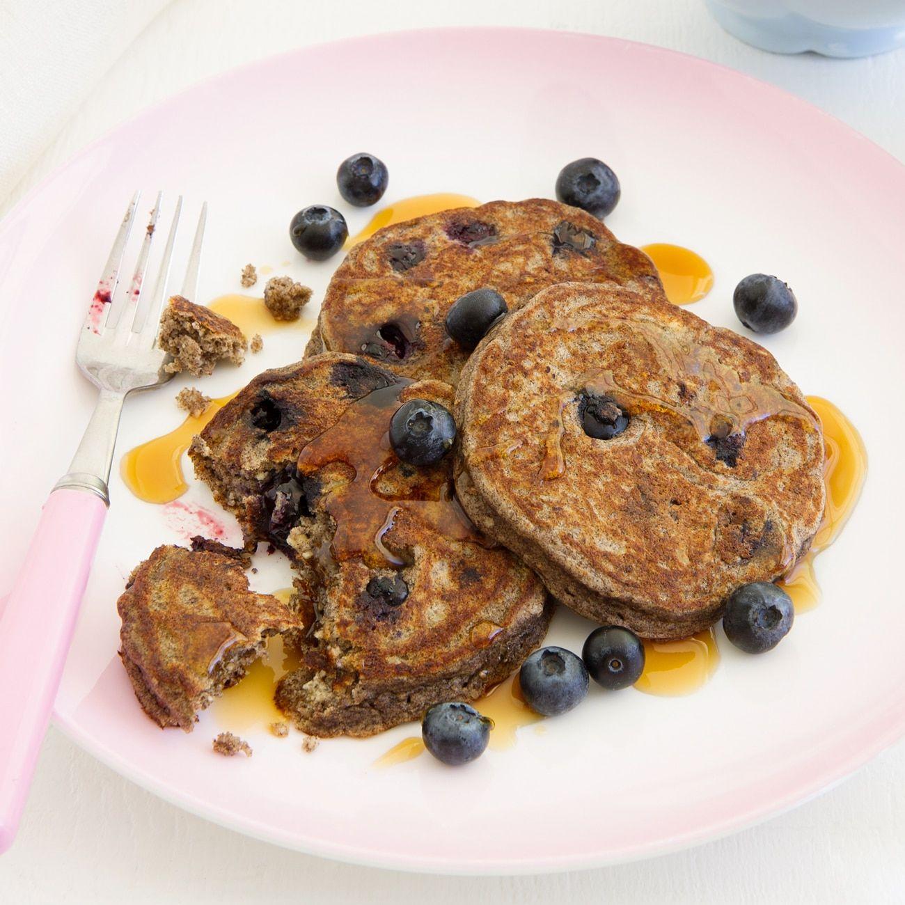 Hazelnut And Blueberry Buckwheat Pancakes Recipes