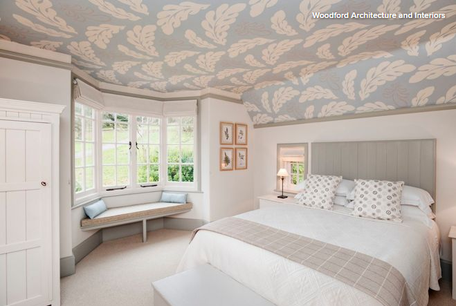 Standout Ceilings Give Rooms a Lift Bedroom decor