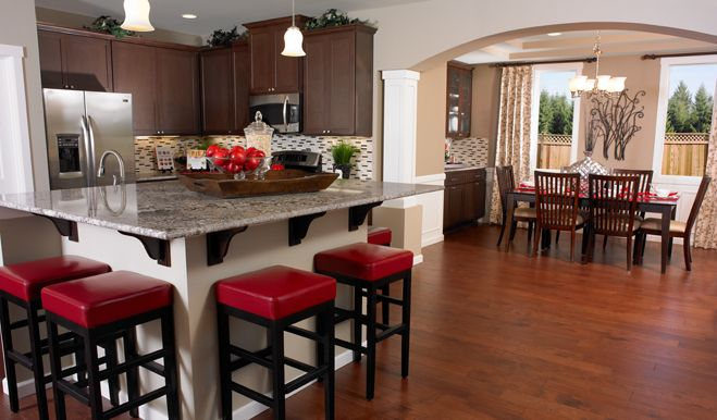 Love this Layout Kitchen/Dining Room Combo Pinterest Bar