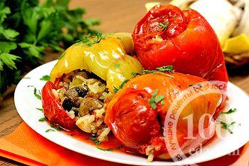 перец фаршированный с рецепт с фото пошагово