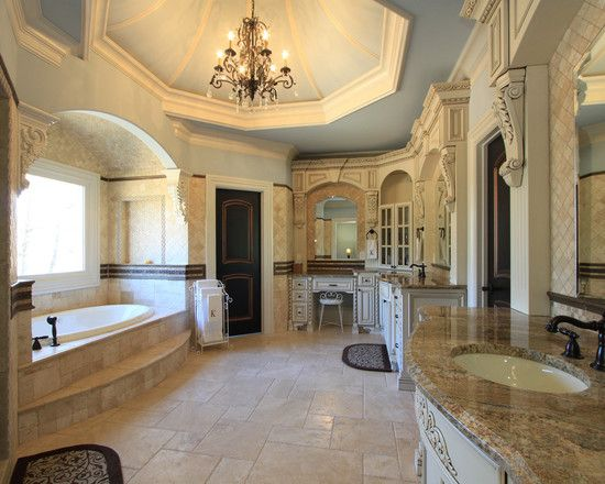 Astounding Engaging High End Bathroom Designs With High Class Vianity Design With Marble Countertop And Custom Bathroom Designs Tuscan Bathroom Luxury Bathroom