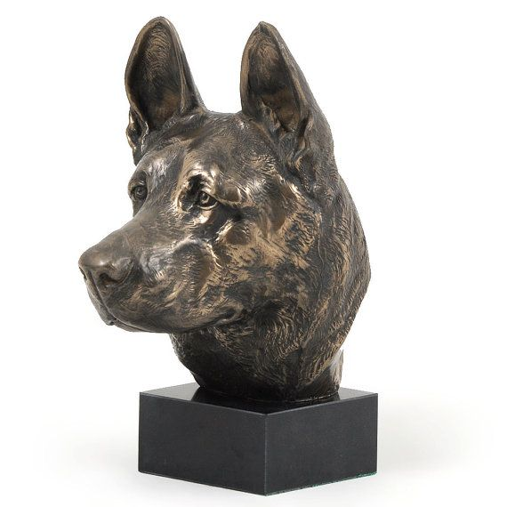German Shepherd, dog marble statue, limited edition ...