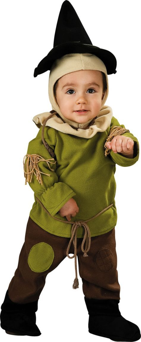 Baby Wizard of Oz Scarecrow Costume - Party City witches and - scarecrow halloween costume ideas