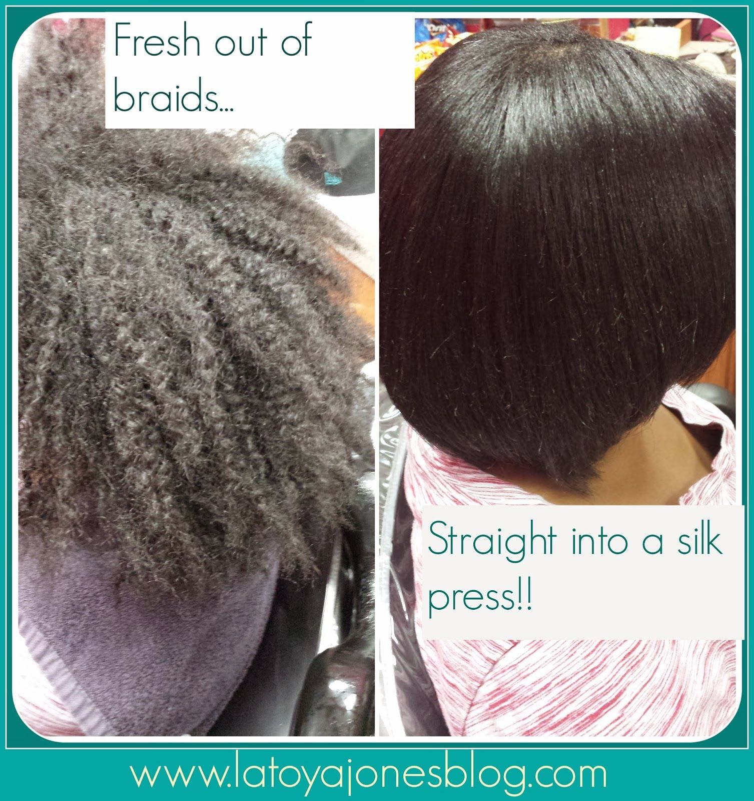 Can I Get A Silk Press Safely Right After Taking Braids Down Relaxed Hair Care African American Hair Care Silk Press