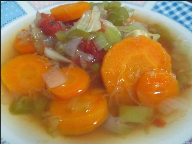 Dieta de la sopa quema grasa dia a dia
