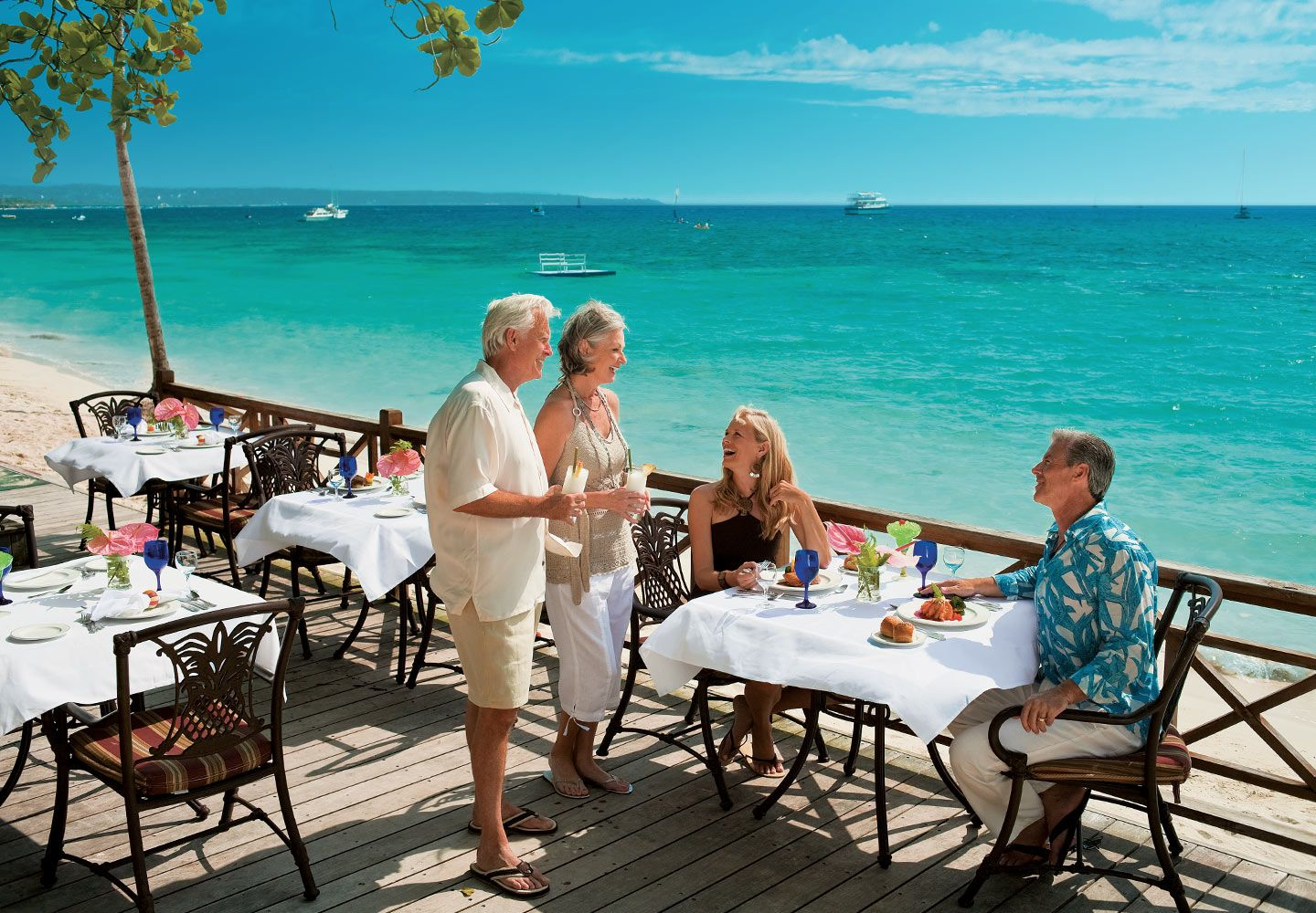 Enjoy grilled favorites at the Beach Bistro. | Negril ...