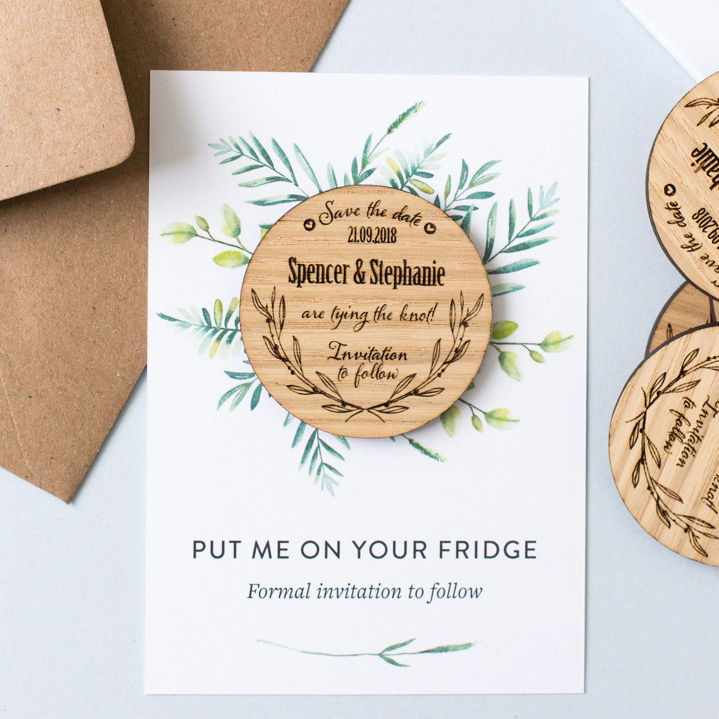38 Unique and Unusual Save the Date Ideas