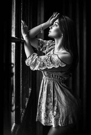 photos en noir & blanc femme sexy & sensuelle