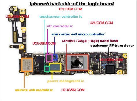 Iphone Logic Board Diagram - Wiring Diagram Best DATA