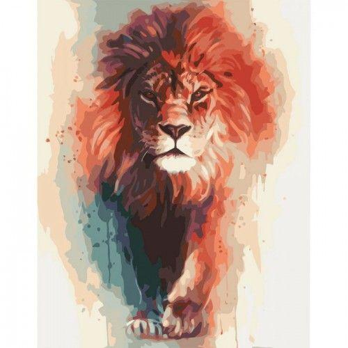 картина по номерам лев - Поиск в Google | Картины ...