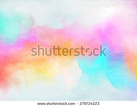 Colorful Watercolor Grunge Texture Background Textured