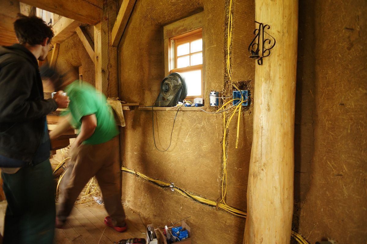 electrical wiring in cobb homes our cobb home pinterest rh pinterest com how to wire a cob house for electricity Cob Hobbit House