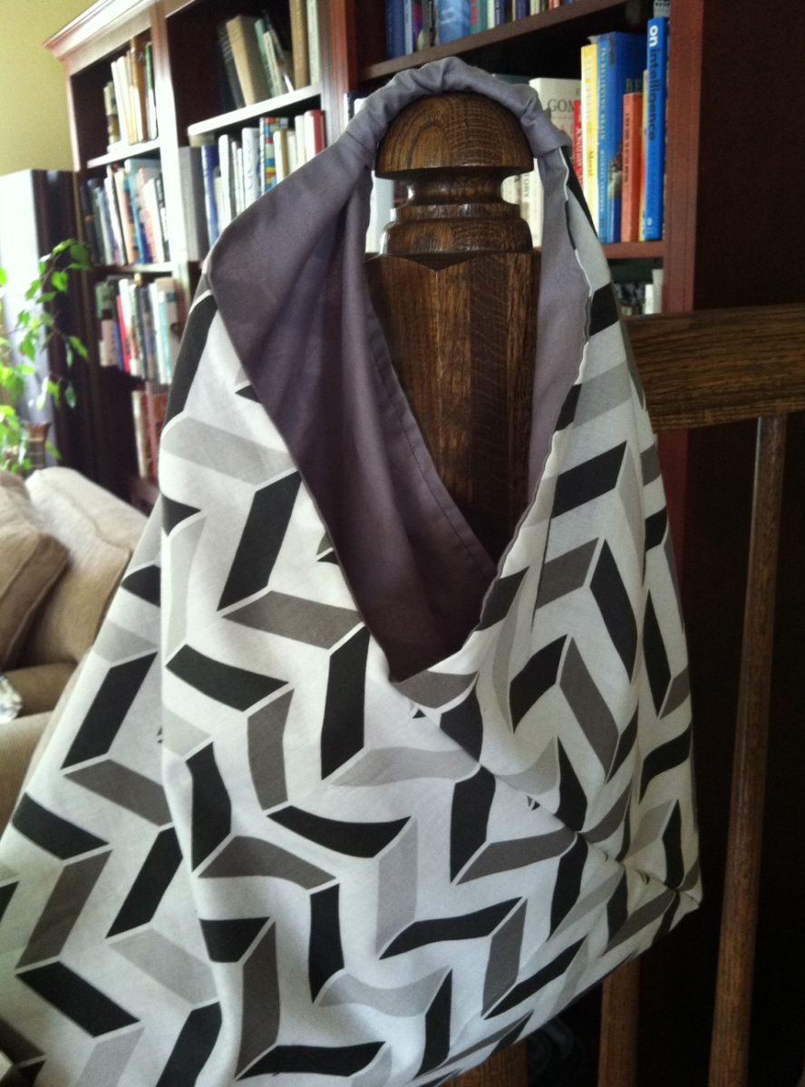 Tutorial de Origami Bag: bolso simple y rápido, ideal como regalo