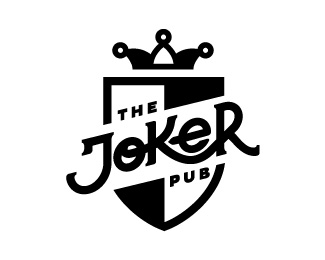 The Joker Pub Joker Logo Joker Playing Card Logo Design