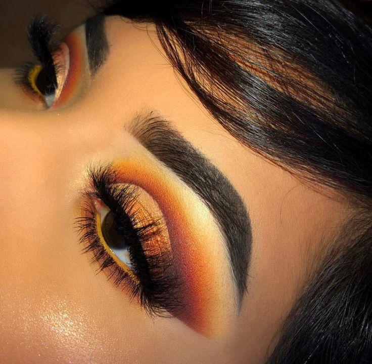 Burnt Orange Eyeshadow Tutorial with LimeLife by Alcone
