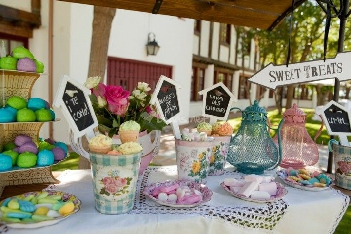 Un dulce arreglo para la boda